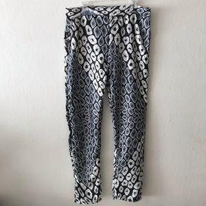 Grass-Fields High Waist Plus Size Pants